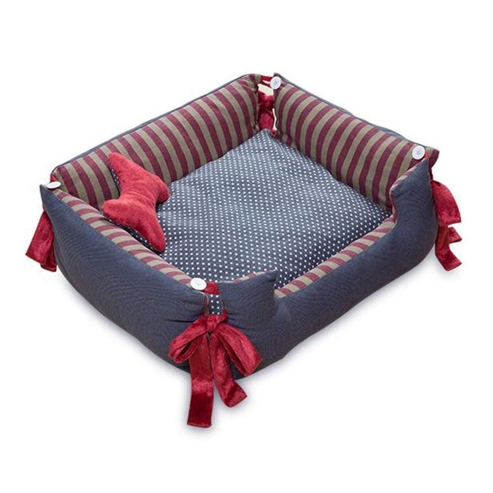 KJRJCW Pet Bed or Bed Cover, Removable & Washable Cover Zippers, Shop a Whole Bed with Cover for Change