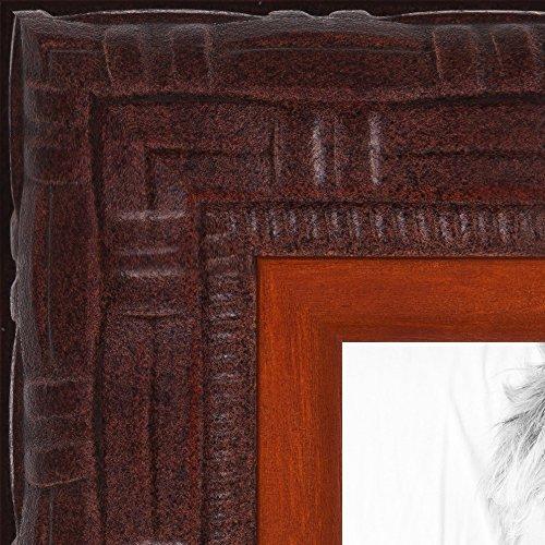ArtToFrames Ornate Mahogany Picture WOMJ40059 24x36