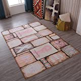 Retro Home Rugs National Flavor - MeMoreCool Eleven Patterns No Fading Anti-slipping Beautiful Patterns Living Room Tea Table Carpets 55 X 79 Inch