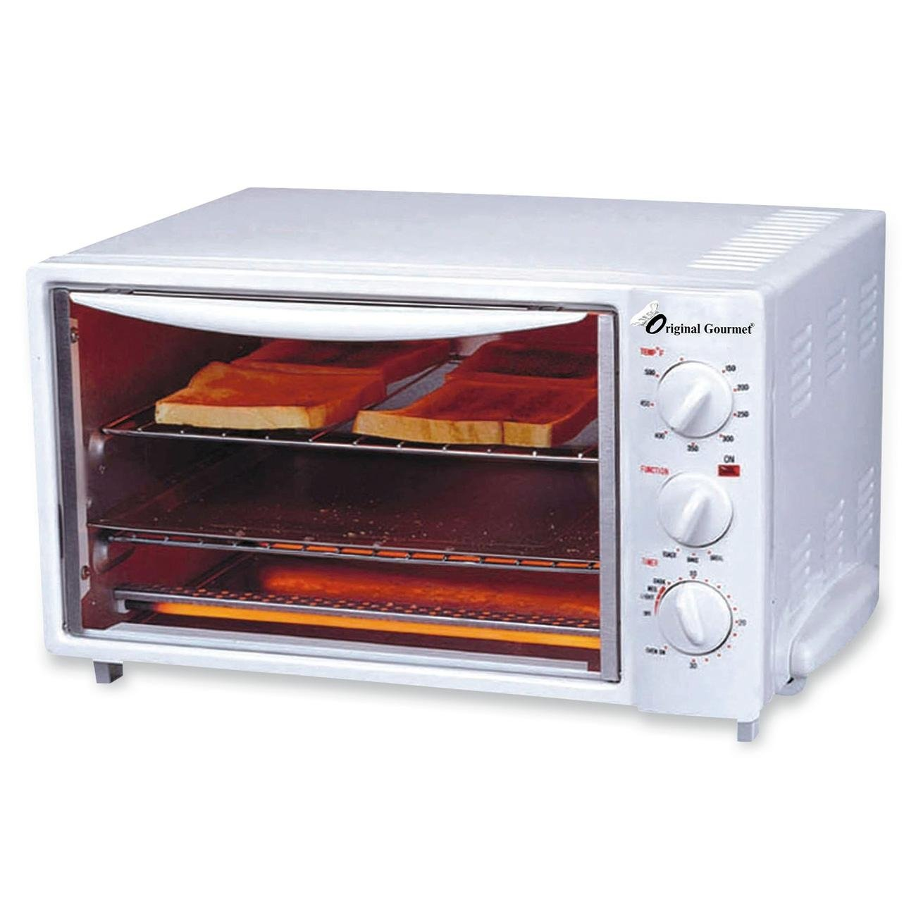 """Coffee Pro CFPOG20 Toaster Ovens, 14"""" Length, 14"""" Width, 16"""" Height, 10 lb"""