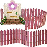 Mood Lab Fairy Garden Accessories Kit - Miniature Door & Fence Set of 3 pcs - Kit Outdoor House Decor