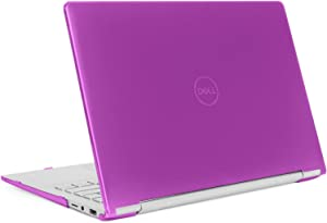 "mCover Hard Shell Case for 13.3"" Dell Inspiron 13 7391 2-in-1 Convertible Laptop Computers (Purple)"