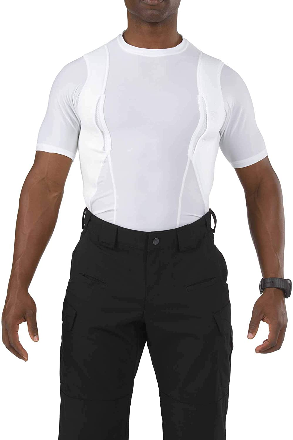 Polyester//Spandex Blend Strengthened Seams 5.11 Tactical Mens Holster Shirt Style 40011