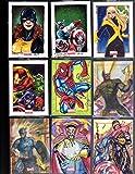 #4: Marvel Sketch card