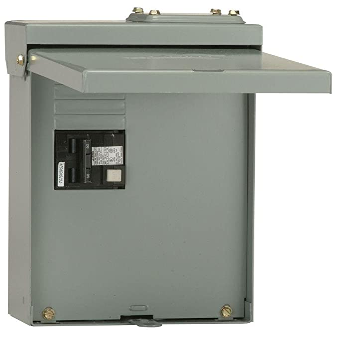 Midwest Gloves Spa Disconnect Panel 60 Amp GFCI Interupter Included