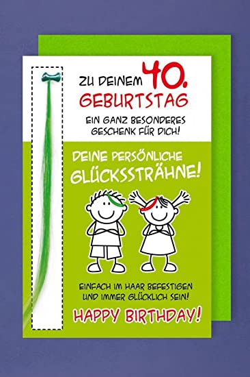 Tarjeta de felicitación 40 tarjeta de cumpleaños humor ...