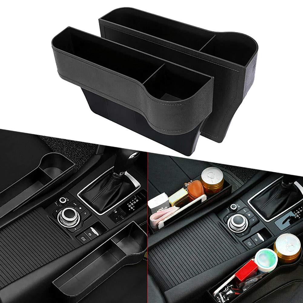 ulofpc 2 st/ücke Auto Universal Seat Gap Aufbewahrungsbox Auto Kunststoff Aufbewahrungsbox Auto Finishing Lagerung Zubeh/ör