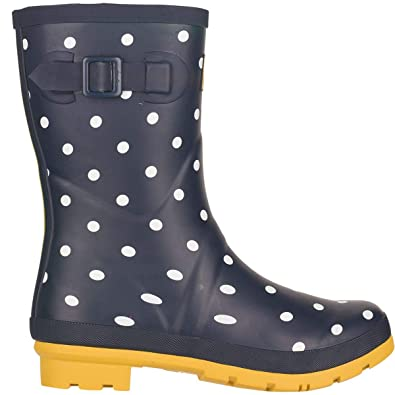 Welly 0uk 8 Boot Spot Women's Navy Joules Us Molly French 0 6 S5q661