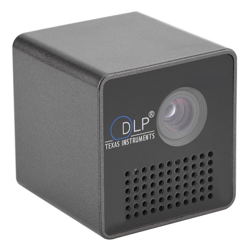 マイクロプロジェクタ VBESTLIFE ホームシアター1080P解像度 DLPイメージング技術 ノイズキャンセリング機能 20000H LED光源 1-13ft投写距離 800:1コントラスト比 プロジェクタ   B07DHH64M9