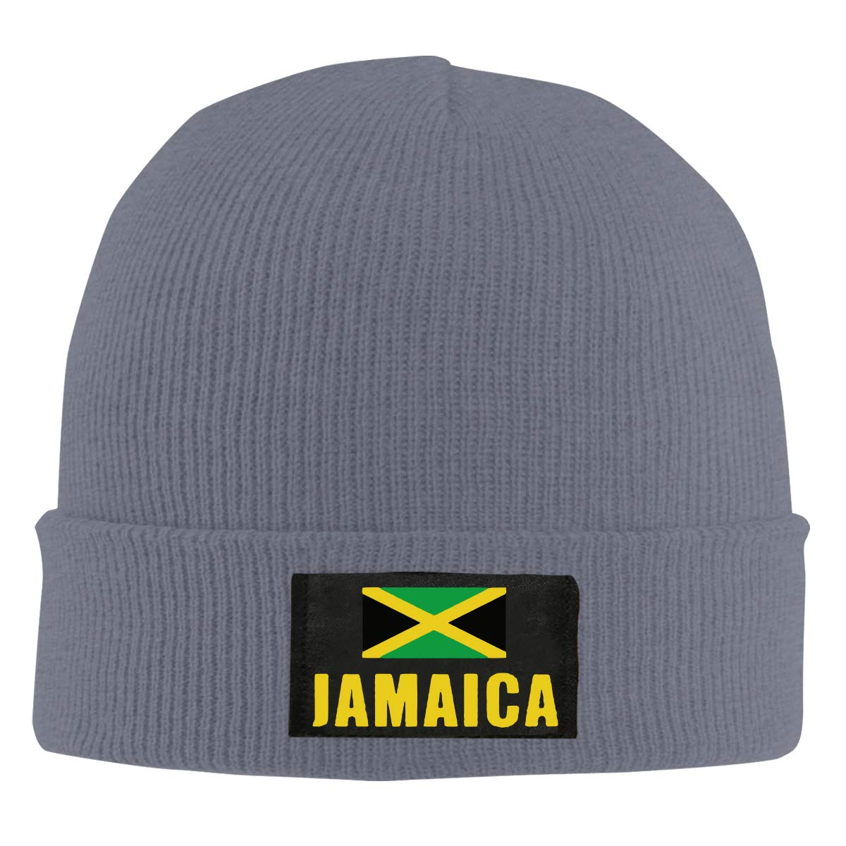 100/% Acrylic Thick Skiing Cap BF5Y6z/&MA Unisex Jamaica Flag Knitted Hat