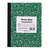 Roaring Spring Hard Cover Composition Book, 9 3/4'' x 7 1/2'', Graph Ruled, 100 sheets