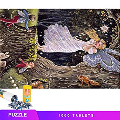 JJKK Classical Style Oil Painting Department of Art Painting Jigsaw Puzzles 1000 Pieces for Adults Children's Puzzle Toy, Jigsaw Puzzle, DIY Collectibles Modern Home Decoration(B): Toys & Games