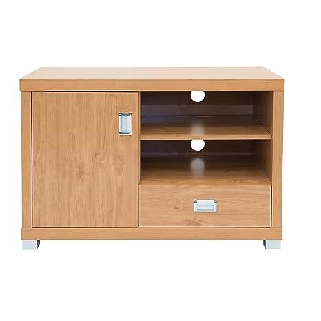 techni mobili tv stand with 1 drawer, maple: amazon.co.uk: kitchen ... - Mobili Tv Amazon