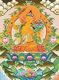 Manjushri - Tibetan Thangka Painting