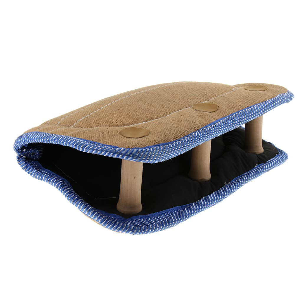 D DOLITY Dog Puppy Training Bite Tug Toys Young Dog Chewing Arm Sleeve for Malinois German Shepherd
