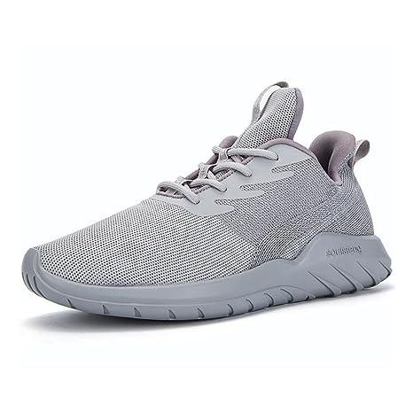 b32d056bcaba Hombres Mujeres Zapatos Casuales de Punto Otoño Invierno Low-Top Cordones  Comfort Zapatos