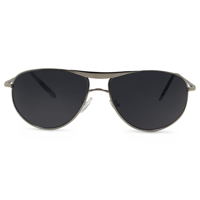 San Diego Aviator Reader Sunglasses Set San Diego Sunreaders (Black 1.0)