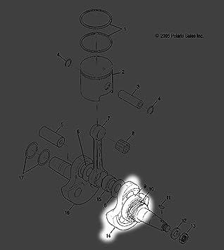 Starter Drive FITS POLARIS Big Boss 2x4 4x6 6x6 1989-2002