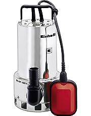 Einhell Bomba de aguas sucias (GH-DP 1020 N) (1000W, capacidad de 18.000l/h, profundidad max. de 5m, conexión de manguera 47.8mm) (ref. 4170773)