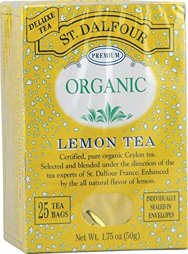 - Lemon Tea (Organic) St. Dalfour 25 Bag