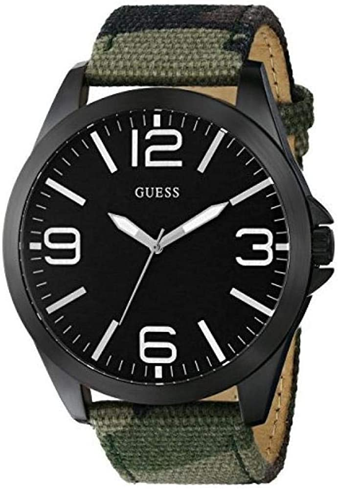 Guess Breakthru - Reloj de Cuarzo (48 mm), Color Verde Militar