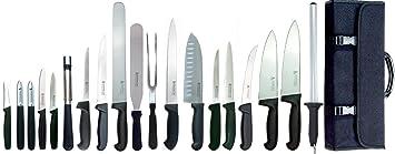 Dolomiten Inox MASTER CHEF - Juego de 20 cuchillos de ...