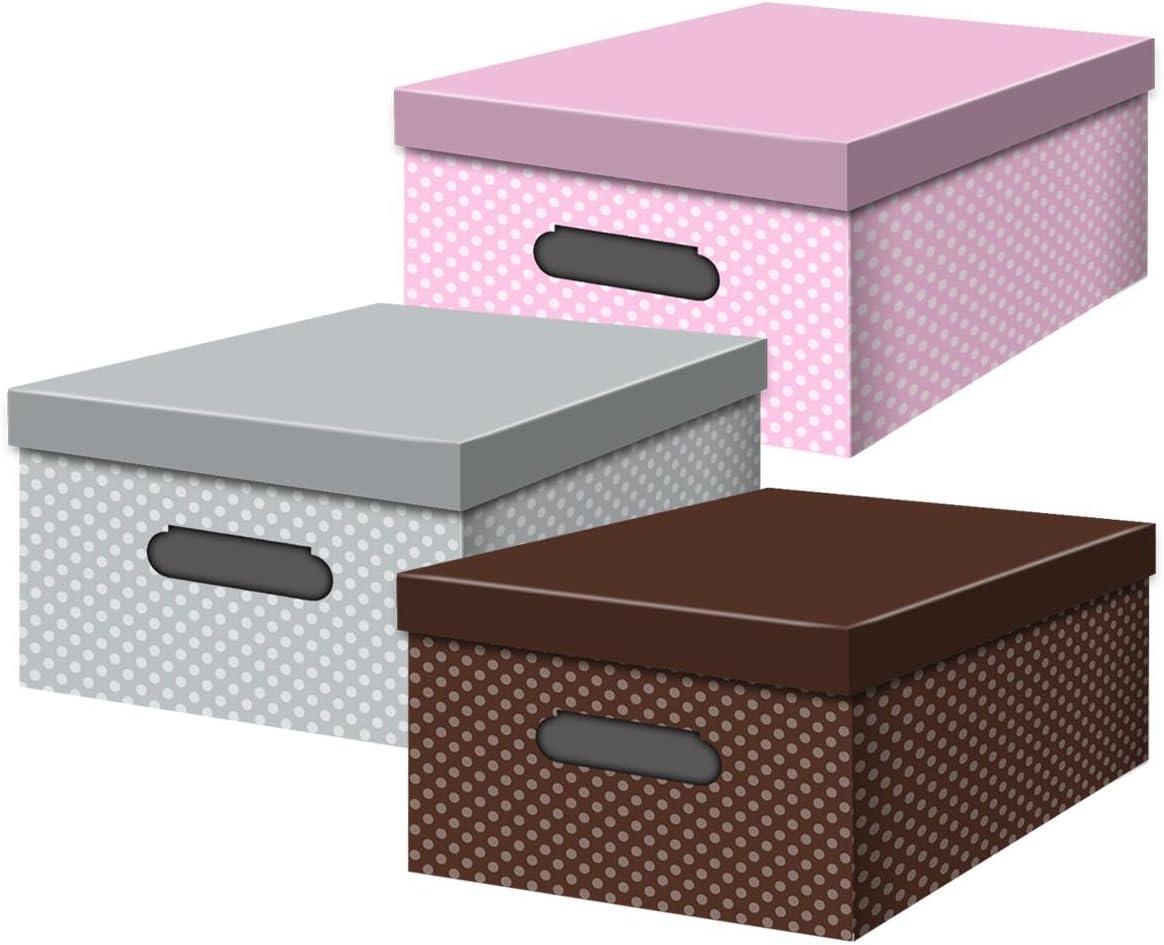 Confortime Topos - Caja de multiusos, 6 unidades: Amazon.es: Oficina y papelería