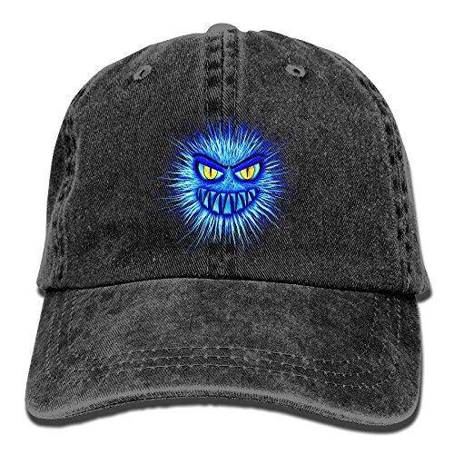 Uanqunan Cute Monster Unisex Cotton Denim Baseball Cap - Monster High Economy Dolls