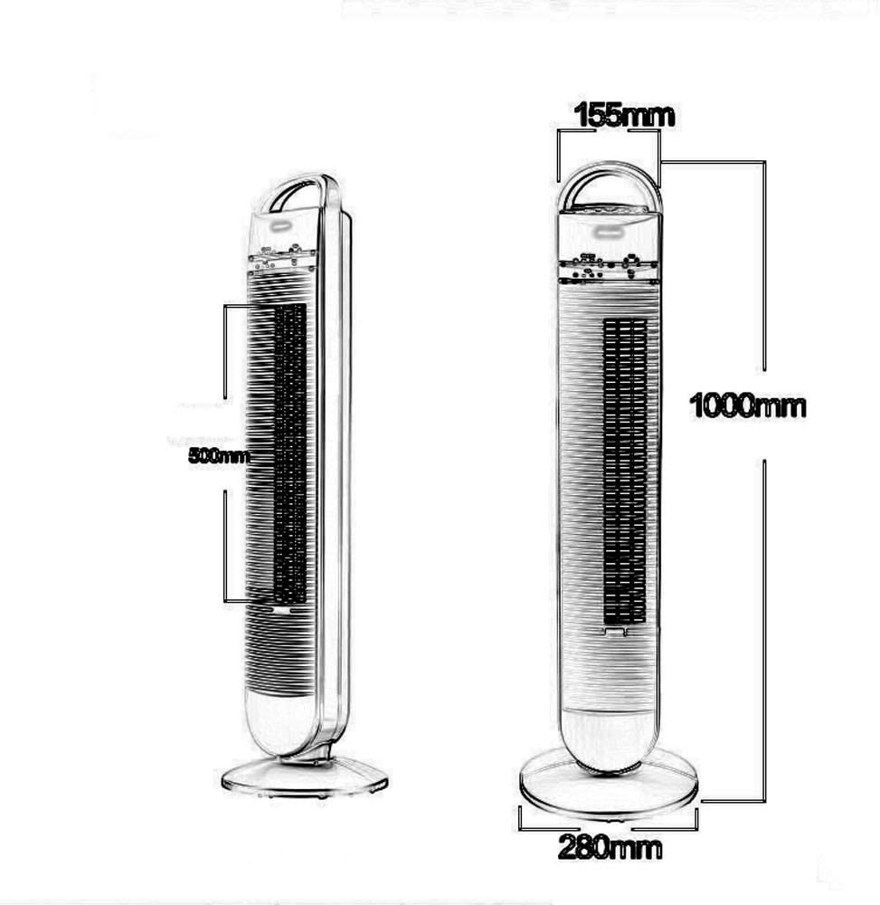 ventilador de la torre principal Unidad de aire acondicionado ...