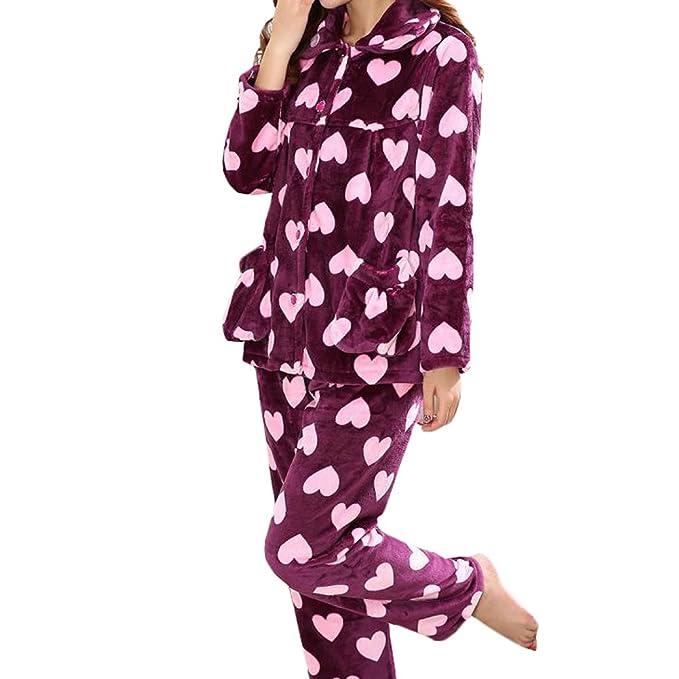 Casual pijama serie de calentamiento ropa de dormir ropa Inicio de la franela pijamas X-
