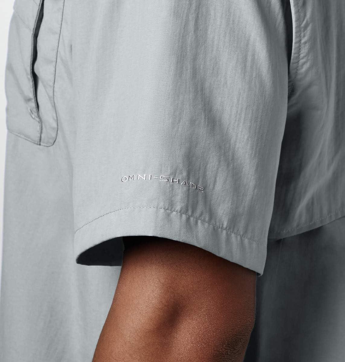 Columbia Mens Mens Bahama Ii Short Sleeve Shirt Mens Bahama II Short Sleeve Shirt