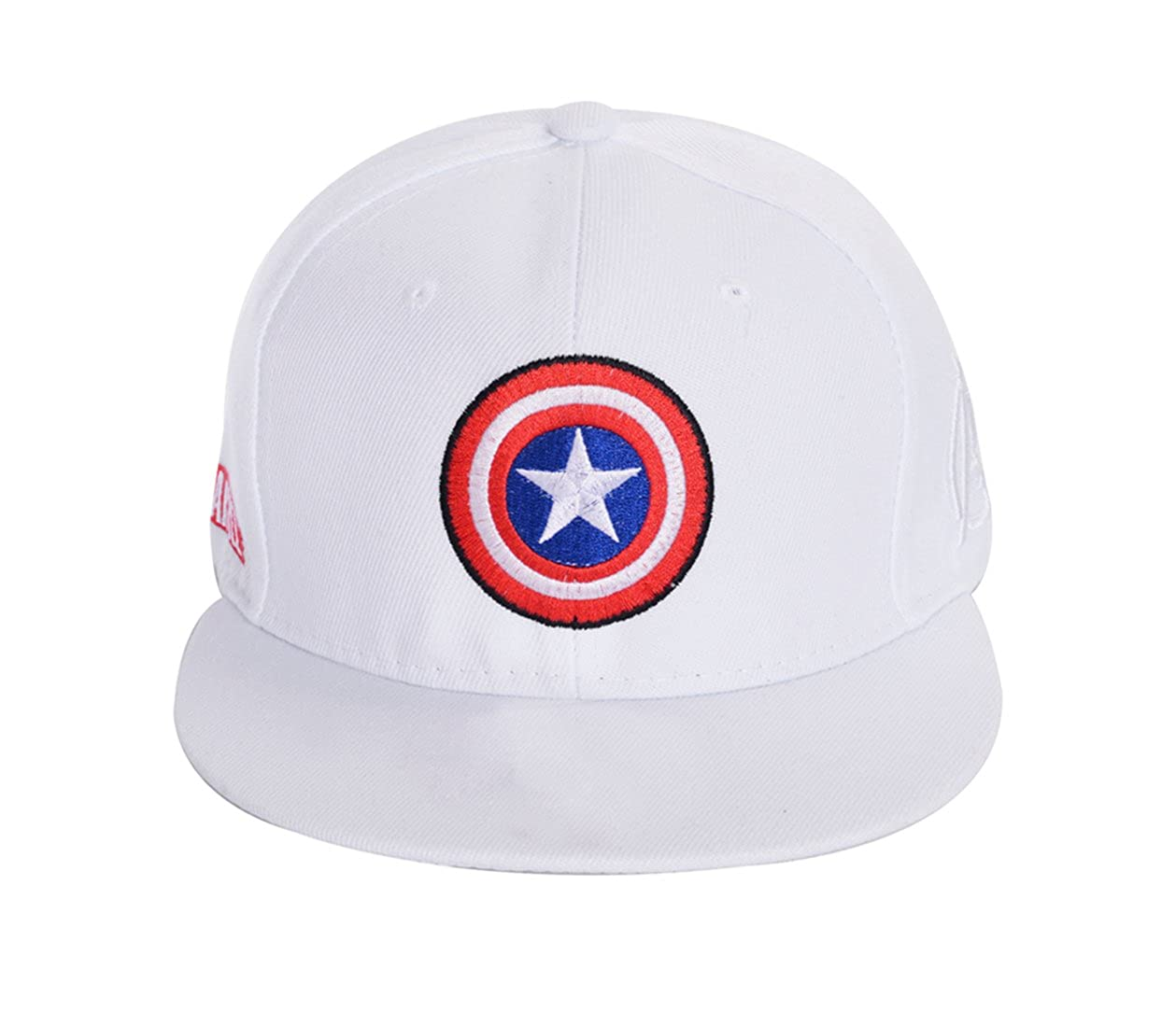 5395788ec721d Amazon.com  REINDEAR Marvel Avengers Captain America Shield Hat Baseball Cap  US Seller (Black)  Clothing