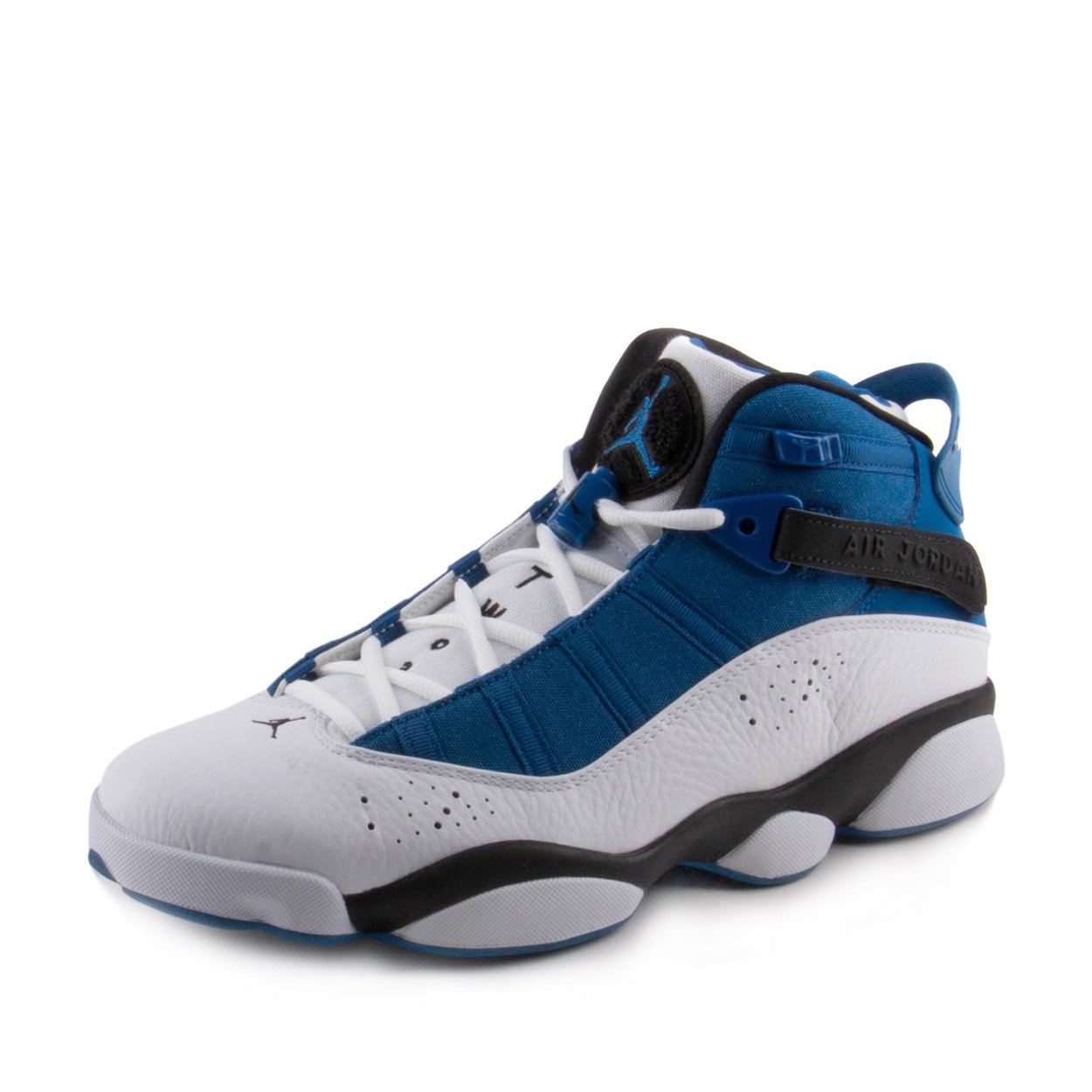 Jordan 6 RINGS MENS fashion-sneakers 322992-400_11.5 - TEAM ROYAL/BLACK-WHITE-METALLIC SILVER by Jordan