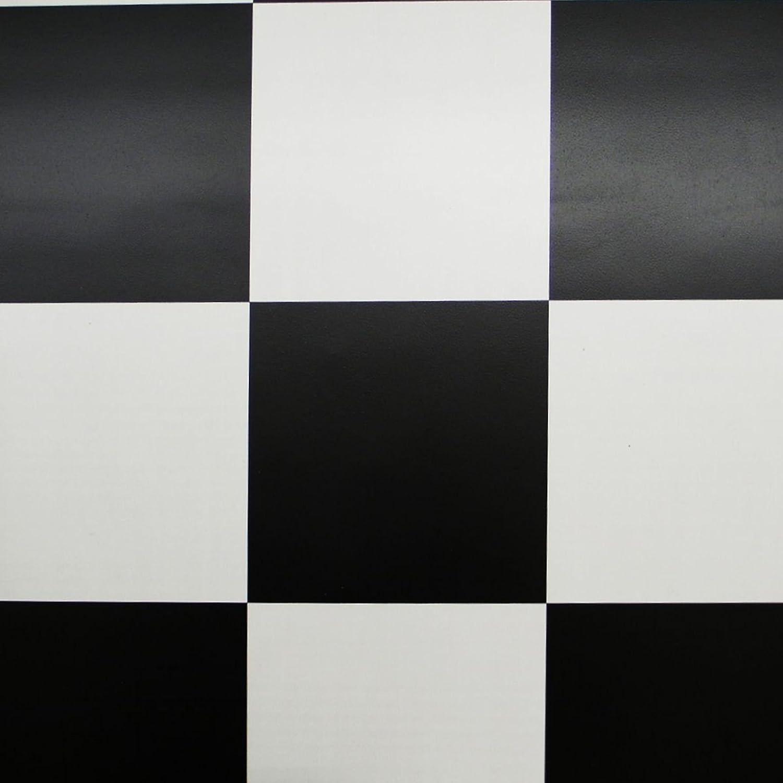 PVC Bodenbelag Schachbrett Schwarz Weiß Breite 2 m (9,95 € p. m² ...