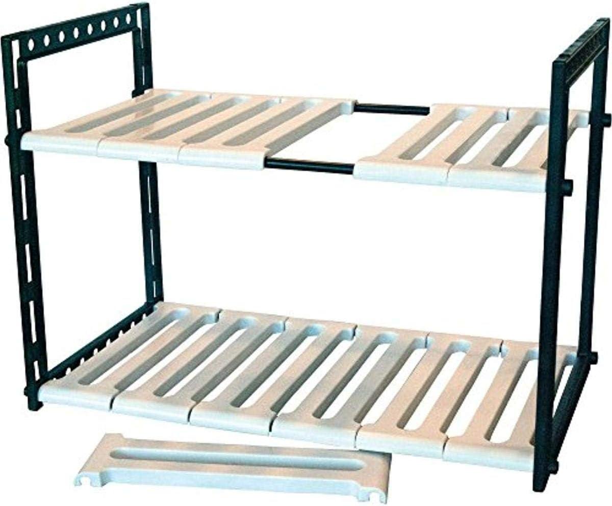 Range Kleen CT2002 Under Sink Storage Shelf Adjustable From 18 Inches To 28 Inches Wide