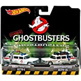 Mattel Hot Wheels Ghostbusters Ecto-1 and Ecto-1A Die-cast Vehicle 2-pack - Voiture Miniature Echelle