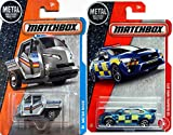 Matchbox Police Collection Meter Made Metro Mini Silver Police & '15 Suburu WRX STI 2017 Rescue Series in Protective Cases