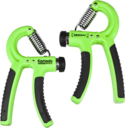 Forearm Muscle Strength Hand Strengtheners x2 Wrist Grip Exercisers Adjustable