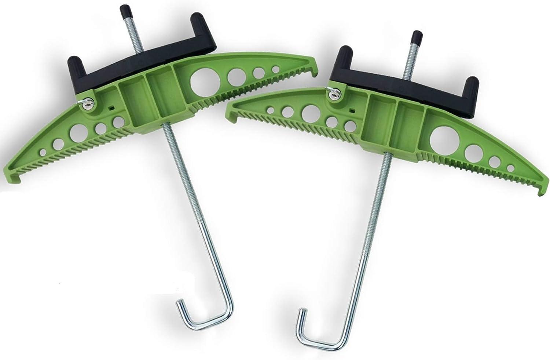 AutoRack - Abrazaderas de escalera para furgoneta (55 mm de ancho) Cerraduras de llave integradas. - 20 g de prueba de choque - CE: Amazon.es: Bricolaje y herramientas