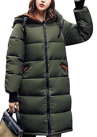 Parkas Mujer Invierno Vintage Moda Talla Grande Abrigo Acolchado Mode De Marca Manga Larga Elegantes Espesar Termica Anchas Camuflaje Pluma Chaqueta ...