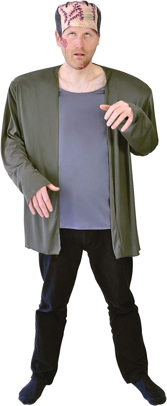 Frankenstein - Disfraz de monstruo adultos, talla 10 (AC970 ...