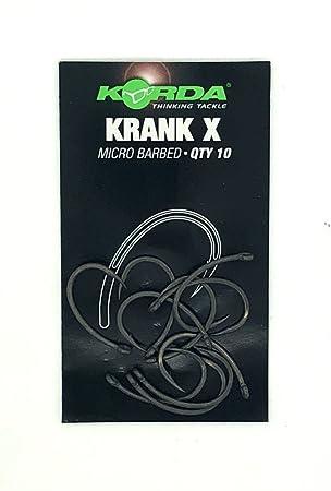 Micro Barbed KORDA Krank X Hooks 10 per pack STONGER VESION OF THE KRANK HOOK