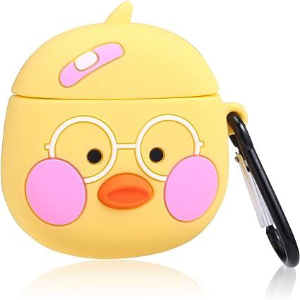 Amazon Com Joyleop Shy Duck Case Compatible With Airpods 1 2