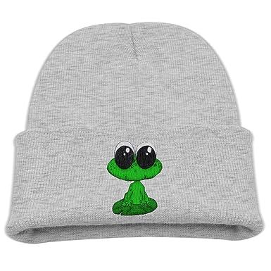 Amazon.com  Big Eyes Frog Toddler Beanies Cap Infant Skull Hat  Clothing 7dc6d099de3