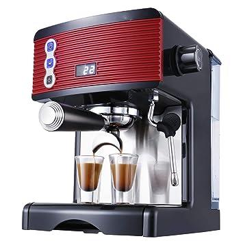 Cafetera italianas eléctrica espresso 1.7L Máquina café espuma, Máquina de espresso semi automática,