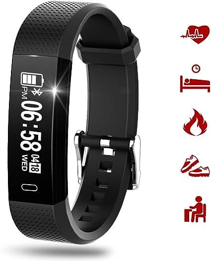 Amazon.com: RIVERSONG Fitness Tracker, reloj inteligente ...