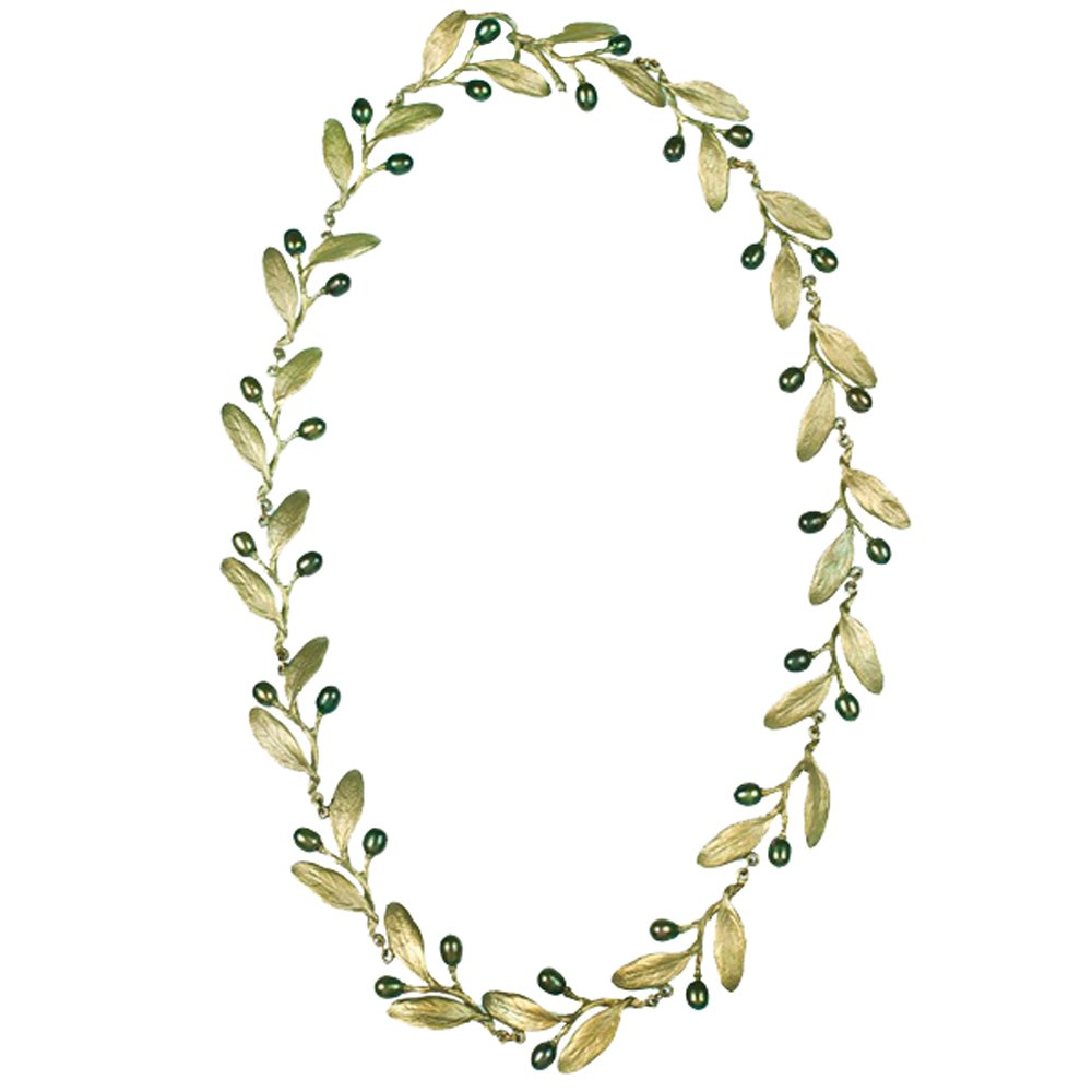 ''Olive'' Statement Necklace by Michael Michaud for Silver Seasons…