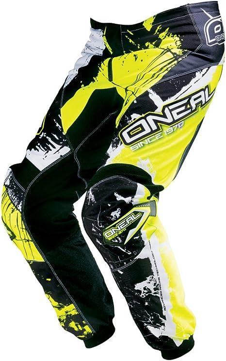 Pantaloni motocross ONeal 2016 Element Shocker Nero-Arancio