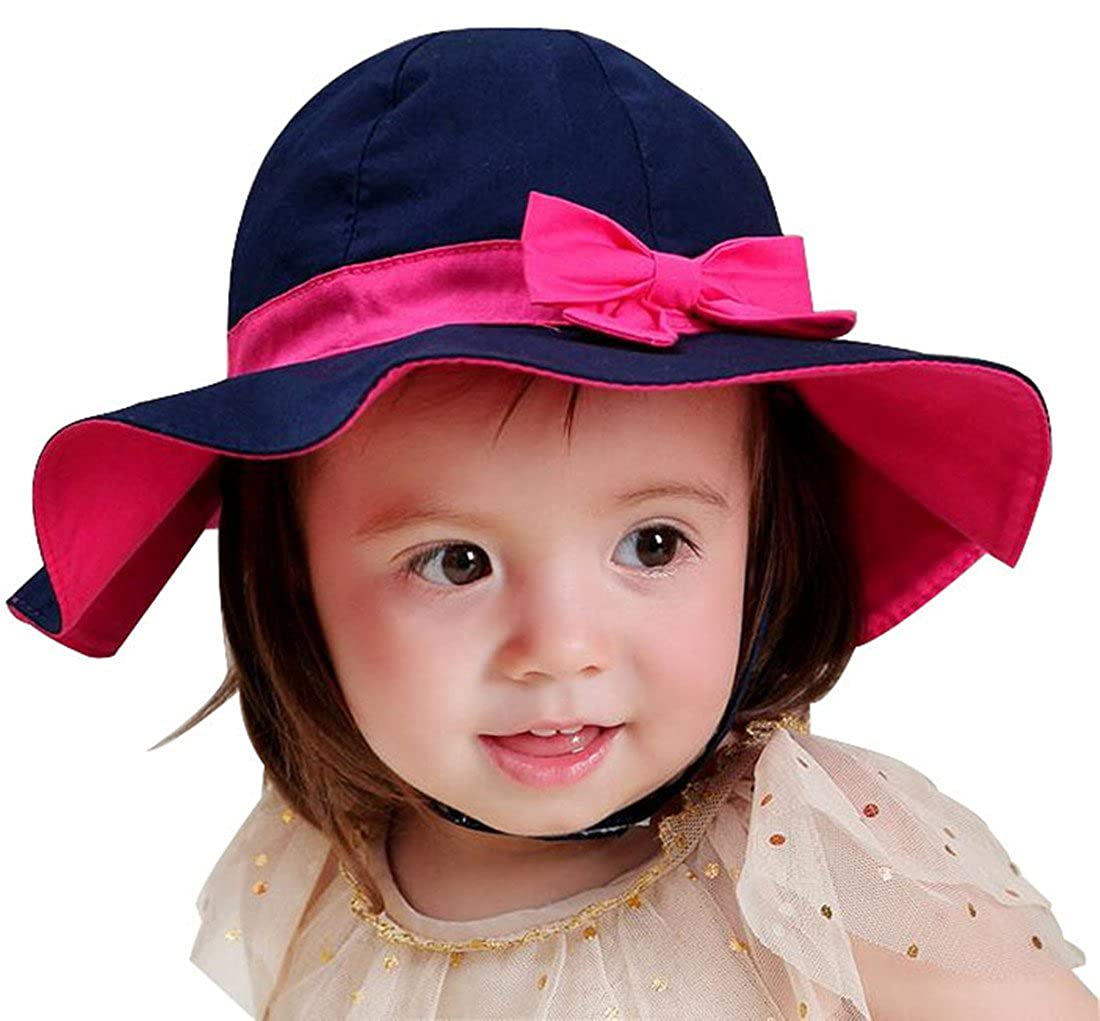 Ding-dong Kid Baby Girl Summer Bowknot Sun Hat