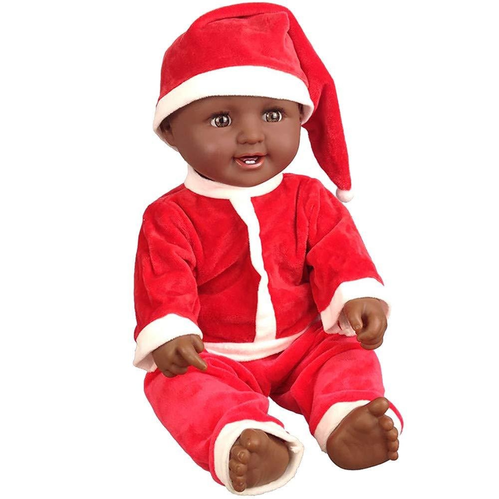 【クーポン対象外】 XEDUO 21インチ クリスマス Size:21Inch リボーン 兄弟 ベビードール ソフトビニール シリコーン 21インチ 生きているような La ブラック La African フルボディ リボーンドール 幼児 男の子 女の子 誕生日ギフト Size:21Inch レッド 43947886788 レッド B07JMMVK52, 森農園産直店:8f454df6 --- a0267596.xsph.ru